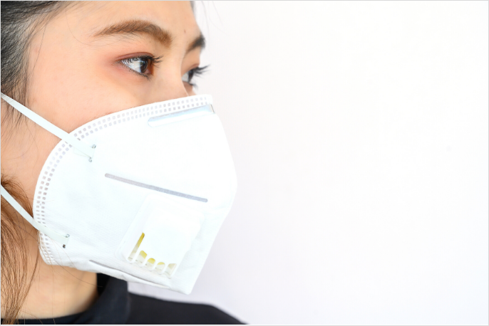 Woman with Medical Mask